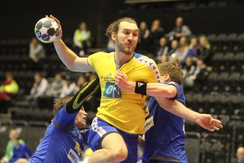 VÅKNET: Jonas Strøm Tjernshaugen var meget god etter pause, og scoret på fire av fire skudd.