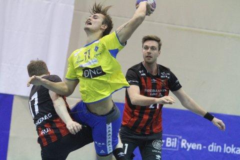 TYSKLAND NESTE: Stortalentet Magnus Abelvik Rød skrev i helgen under på en tre-årskonrakt med SG Flensburg-Handewitt.