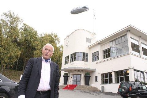 SIER NEI: Christian Ringnes, her utenfor Ekebergrestauranten, er ikke lenger interessert i å kjøpe Café Utsikten. Arkivfoto