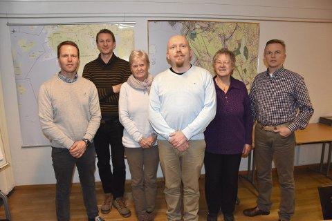 ARBEIDSGRUPPen: Jan Mehol, Hallvard Heimdal, Grete Smidt, Lars Petter Solås, Elen Roaldset og Arunas Jocius. Foto: Privat