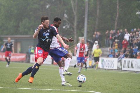 SUVEREN: Cise Aden Abshir spilte en strålende kamp mot Levanger.