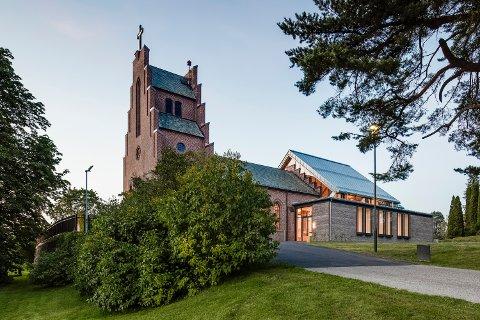 NORDSTRAND KIRKE: Arkitekt for utvidelsen av Nordstrand kirke er Meinich Arkitekter. Foto: Hundven-Clements Photography