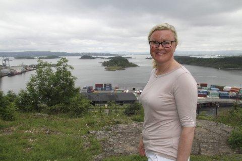 BEKYMRET: Pia Farstad von Hall er bekymret for at konsekvensene av bystyrets vedtak blir at småhusområdene får lide på sikt. Arkivfoto