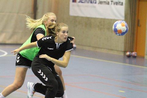 NØKKELSPILLER: Malin Aune fikk sjansen på landslaget forrige sesongm og blir en viktig brikke for Oppsal.