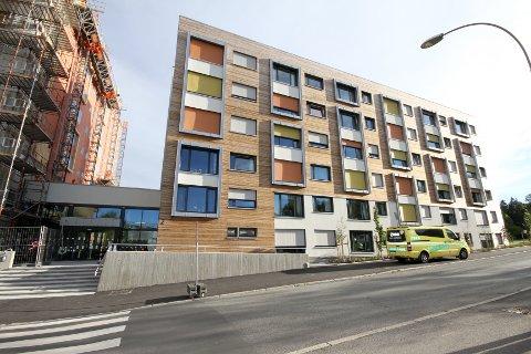 Nybygget i Utmarkveien med 35 Omsorg Pluss-leiligheter.