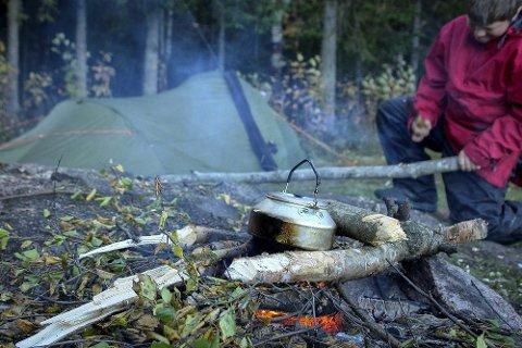 ØSTMARKA: Østmarka er et av stedene forfatteren har turforslag.