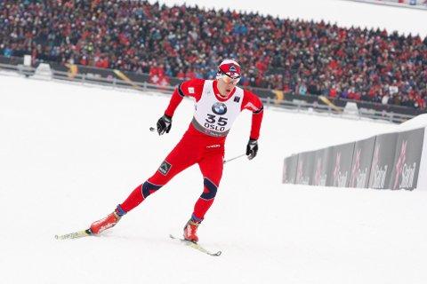TOK SEIEREN: Rustad-løperen Anders Gløersen gikk et strålende løp på Gålå fredag. Arkivfoto: Anders Halvorsen