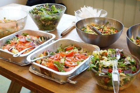 Spise lørdags-lunch i Solveien!
