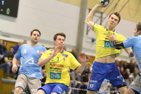 SLO AN TONEN: Fredrik Løvberg satte et par viktige scoringer i starten da BSK festet grepet på Sandnes.