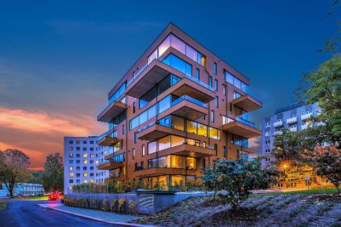 PRISVINNER: Ullevål Tårn vant Oslo bys arkitekturpris 2016. Foto: Oh Shots Lighthouse Works/Sindre Nyborg