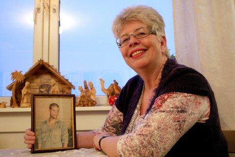 Kari Hilde  French hadde alltid sønnen Joshua i tankene, men prøvde å leve så normalt som mulig, skrev Nordstrands Blad 15. desember 2011. Akrivfoto: Kristin Trosvik/Nordstrands Blad