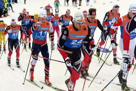 PÅ GANG? Anders Gløersen mener han er der han skal være foran verdensmesterskapet i Lathi.