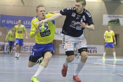 PÅ VEI: Kevin Maagerø Gulliksen og BSK er på vei mot sølv i Grundigligaen.