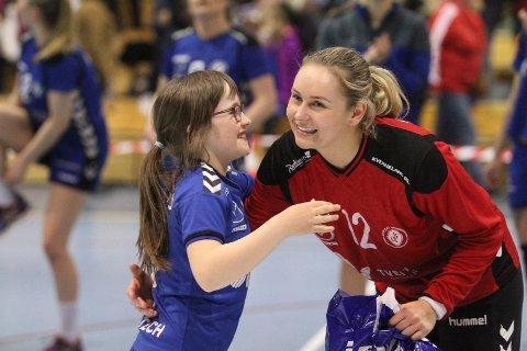 BEST, IGJEN: Marie Sundfør Tømmerbakke ble nok en gang kåret til Oppsals beste spiller etter en strålende førsteomgang.