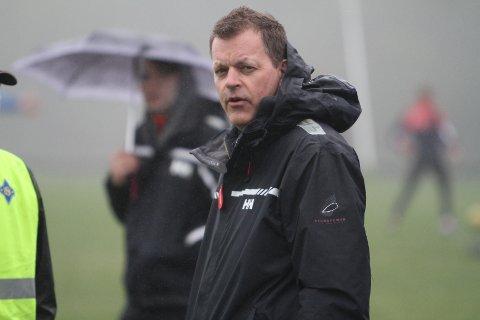 UFLAKS MED VÆRET: For tredje året på rad måtte leder Magnus Borander se at Ekebergstafetten gikk av stabelen i dårlig vær.