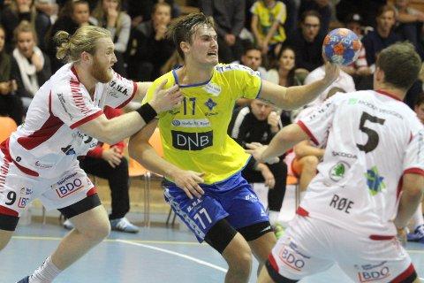 """KÅRET: BSKs stortalent, Magnus Abelvik Rød, ble kåret til """"Årets Spiller"""" i Grundigligaen."""