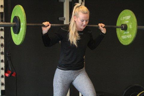 VIL TA NYE STEG: Rebecca Steinheim var veldig god i noen kamper for Oppsal i vinter, nå håper hun å ta nye steg.