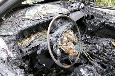 BILBRANNER: Politiet etterforsker nå om det kan være en sammenheng mellom den siste tids bilbranner. Illustrasjonsfoto/Arkivfoto