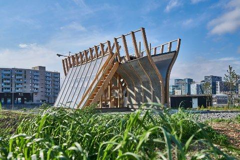 BAKEHUSET: Også kalt The Flatbread Society i Bjørvika er blant de nominerte i årets arkitekturkonkurranse.