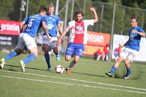 KLAR IGJEN: Kaptein Stian Sortevik var ikke med i 0-3 kampen mot Alta forrige lørdag, men er fit for fight i ettermiddagens kamp mot Kjelsås.
