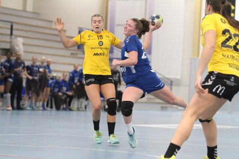 TOPPSCORER: Pernille Normann Eriksen er en spennende spiller, og mot Sola scoret hun åtte av Oppsals mål.