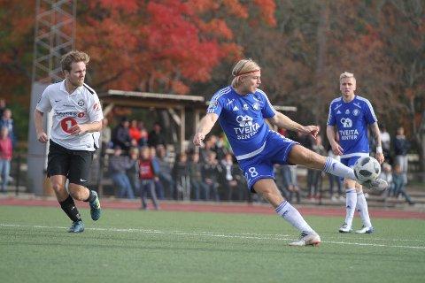 TRAFF IKKE MÅL: Toppscorer Lasse Bransdal og resten av Oppsal var ikke skarpe nok foran mål mot Lokomotiv Oslo.