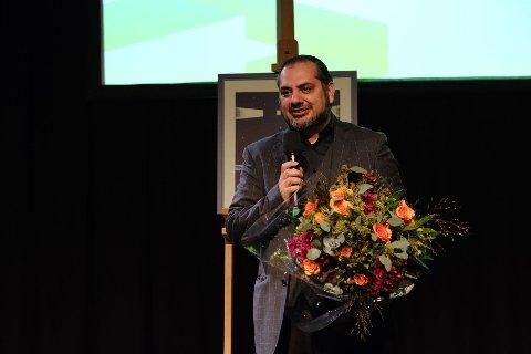FORBILDE: Prisvinner Aziz Ur Rehman. Pressefoto: Johannes Granseth