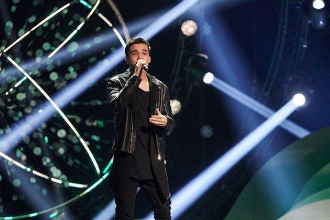 MGP JR.: Zidan Bhatti (15) rappet foran 16.000 publikummere i lørdagens Melodi Grand Prix junior-finale.