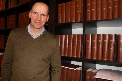 PRESIDENTKANDIDAT: Geir Lippestad er en av seks kandidater til ledervervet i Norges Idrettsforbund. Arkivfoto: Kristin Trosvik