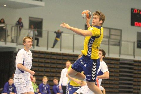 TOPPSCORER: Aksel André Strupstad scoret sju mål, og ble kåret til BSKs bestemann mot Bodø HK.