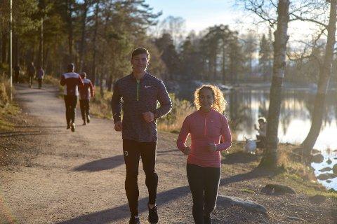 Livsstilspedagogene på joggetur