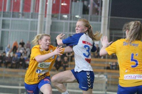 BEST: Julie Reinemo var Nordstrands beste spiller mot Orkanger med sine fem scoringer.