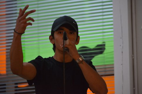 Askar (19) imponerte dommerne med afgahnsk rap på lørdagens UKM.