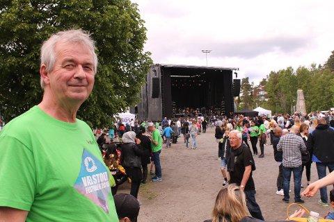 HEMMELIGHETSFULL: Ove Bevolden kan ikke røpe hvem som blir årets store trekkplaster til Vær Stolt-festivalen helt ennå. Arkivfoto: Janina Lauritsen