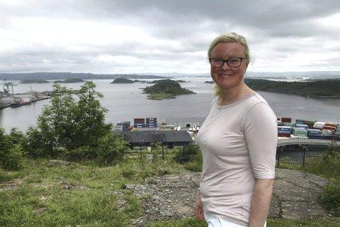 POLITIKER: Et avbrekk i en hektisk hverdag kan være en rusletur på Ekeberg, forteller Pia Farstad von Hall. Arkivfoto