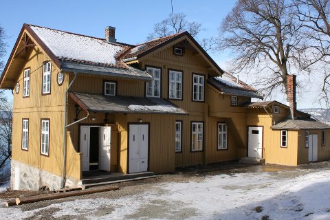 Kongsveien 21: Villaen fra 1863 restaureres slik at det kan åpnes for publikum som en del av Ekebergparken. Alle foto: Kristin Trosvik