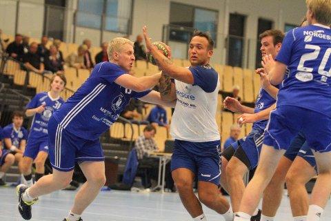 PLEIER KJÆRLIGHETEN: NIFs toppscorer Chris André Beilegaard Inglingstad pleier kjærligheten i koronatiden.