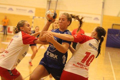 BEST: Eira Aune leverte en strålende seriepremiere for Oppsal, og scoret åtte mål på tolv skudd.