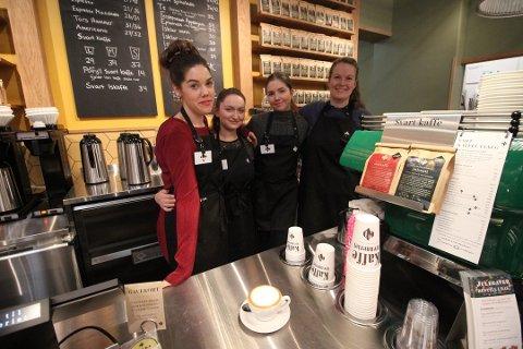 KNALLSTART: Kaffebrenneriet har hatt en veldig god start på Lambertseter Senter.