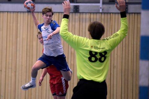 FULL UTTELLING: Christian Holmelid Jakobsen scoret seks mål på seks forsøk fra kanten.