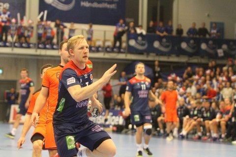TREFFSIKKER: Kevin Maagerø Gulliksen fra Oppsal har scoret på seks av seks skudd i landskampene mot Island og Nederland.