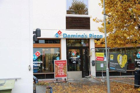 LAMBERTSETER: Domino's på Lambertseter åpnet for kun et år siden, i oktober 2018.