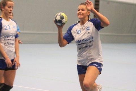 GA SEG IKKE: Iben Helland Flø fikk en tung start mot OSI, men våknet til liv etter pause sammen med resten av laget.
