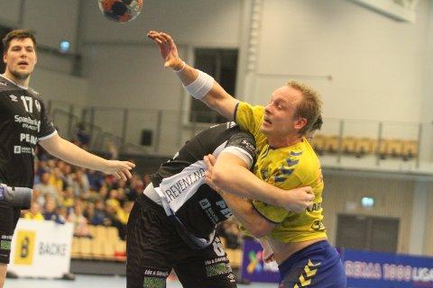 VISTE KLASSE: Lukas Karlsson var strålende det første kvarteret mot Elverum, og holdt BSK inne i kampen mot storfavoriten.