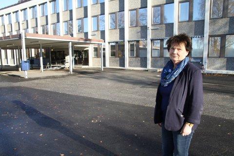– FANTASTISK,MEN KREVENDE ARBEIDSLIV: Anne-Karin Bjerkebro har siste arbeidsdag som Brannfjell-rektor 9. januar.