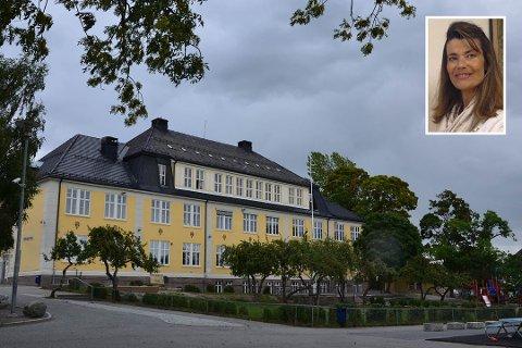 UNDERKAPASITET: – Vi synes det er riktig med åpenhet om hvordan status er ved innskriving, sier rektor Anette Reme (innfelt) ved Bekkelaget skole.