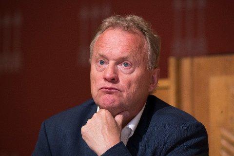Byrådsleder Raymond Johansen (Ap) har grunn til å være betenkt over antall nye regulerte boliger i Oslo.  Foto: Terje Pedersen (NTB scanpix)
