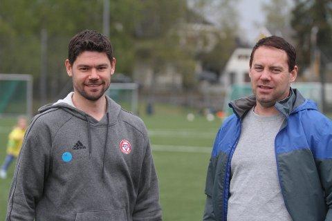 BRØDREDUELL: Daniel Fredheim Holm (venstre) og KFUM/Oslo kommer ikke til å undervurdere Thomas Holm og Nordstrand i cupkampen.