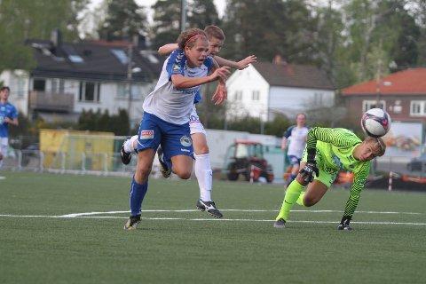 SCORET: Magnus Aaløkken scoret det viktige 3-2 målet da NIF snudde kampen mot Moldes reserver.