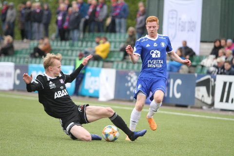 SKAPER LITE: Kristian Bjørseth og Oppsal skapte nesten ikke en eneste målsjanse mot Fram Larvik.